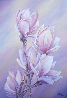 № 158 Цветы - OLASUN - картины акварелью