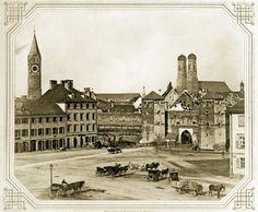 Zeitreise ins alte München  Foto: Volk Verlag/Stadtarchiv München