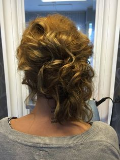 #updo #curls #caroline #hair