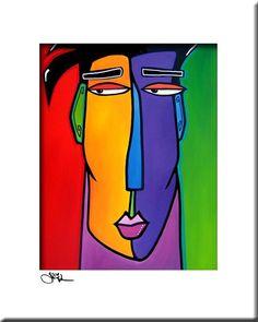 colorful artwork by Thomas Fedro