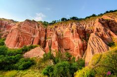 Rapa Rosie de langa Sebes Grand Canyon, Romania, To Go, Places, Nature, Travel, Bucharest, Nature Reserve, Explore