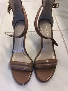 38d06c82f81 Kenneth Cole Womens High Heel Shoe Mallory Sandal Size 6  fashion  clothing   shoes
