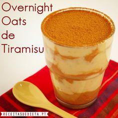 Overnight Oats de Tiramisu                              …                                                                                                                                                                                 Mais