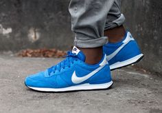 Nike Internationalist Leather: Game Royal Male Shoes, Men's Shoes, Shoes Sneakers, Nike Internationalist, Runners Shoes, Pure Platinum, Nike Lunar, Age, Sharp Dressed Man