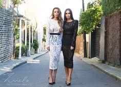 Zuela Photography&Design  By Nathalie Saruhashi  Model: Shiralee Coleman and Dilya Az  Label: Bronxandbanco  #model #fashion #photography #fashionphotography #bronxandbanco #dress #lace #streetphotography