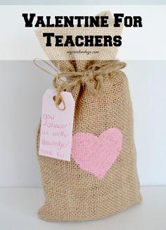 Valentine For Teachers {#MakeIt Challenge}