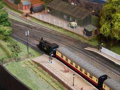Model railway layouts on show