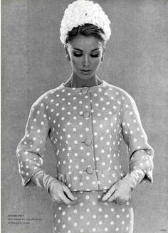 1962 suit by Jacques Heim