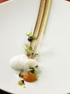 awesome take on the Opera: opera torte, orange blossom, apricot by jordan kahn, via Flickr