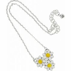 brighton daisy necklace