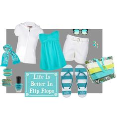 Life is Better in Flip Flops, created by testurumsey