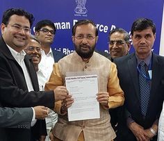 A delegation of All India Federation of Self Financing Technical Institutions (AIFSFTI) under the leadership of Chief Patron, Sri R S Munirathinam and President, Dr. Anshu Kataria and Punjab Unaided Colleges Association (PUCA) met with Sh. Prakash Javadekar, Hon'ble Minister of Human Resource Development. Dr. M.P Poonia, Vice Chairman, All India Council for Technical Education(AICTE) was also present on the occasion.