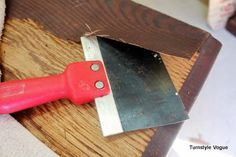 how to remove veneer with a damp towel and iron.