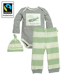 Burt S Bees Baby Boys Organic Bee 4 Piece Jacket Set Fog 6 9