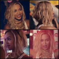 Beyonce has the perfect edgy bob hair style