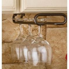 Rev-A-Shelf, 11 in. Oil Rubbed Bronze Wine Glass Holder, 3150-11ORB at The Home Depot - Mobile