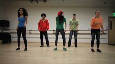 Melinda Sullivan Acapella Tap Choreography