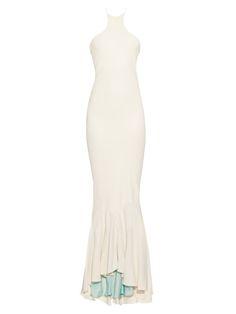 Momu cut-out silk-crepe gown | Haider Ackermann | MATCHESFASHION.COM US