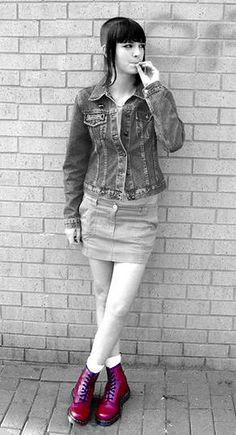 skingirl boots