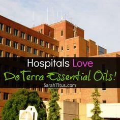 Hospitals Love DoTerra Essential Oils! [ OilsNetwork.com ] #EssentialOils #health #wealth