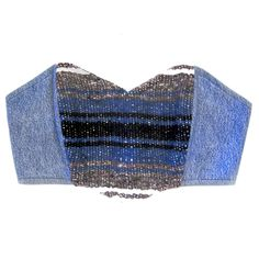 Baja Denim Bandeau Blue