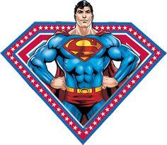 Superman Free Party Printables, Backgrounds and Images. Batman E Superman, Superman Man Of Steel, Superman Baby Shower, Superman Birthday Party, Marvel Comics Superheroes, Oh My Fiesta, Superhero Cake, Boy Baby Shower Themes, Party Printables