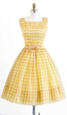 Rococo Vintage Dress 1950s