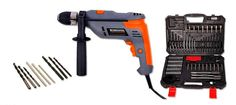 Electric Hammer Drill w/ 119Pcs Accessory Kit w/ Everything You Will Ever Need