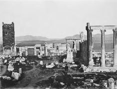 The Erechtheion and the Propylaea Petros Moraitis 1865 Seattle Skyline, Paris Skyline, New York Skyline, As Time Goes By, Athens Greece, Old World, History, Painting, Travel