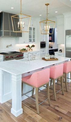 glamour kitchen interior design idea