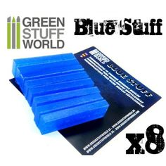 Reusable Blue Stuff plastic to make instant molds in 3 minutes. Compatible with all kind of putty and resins for casting.