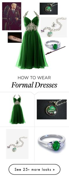 """""""Hogwarts Dance"""" by the-princes-kitty on Polyvore featuring Blue Nile"""