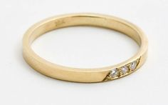Unique engagement and wedding rings by Catbird | Bridal Musings------Wedding Band