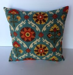 One Waverly Mayan Medallion Adobe Pillow Cover, 18x18, cushion, decorative pillow, accent pillow