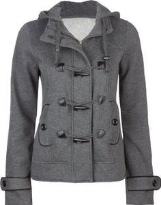 FULL TILT Womens Toggle Jacket - I love fall clothes after an awesome summer!