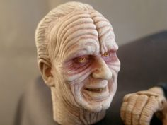 My repaint of the Hasbro Darth Sidious.    www.customikey.weebly.com
