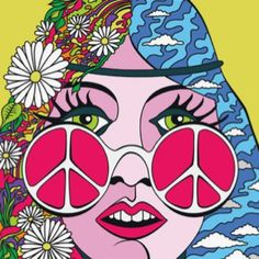 ☯☮ॐ American Hippie Psychedelic Art Peace Hippie Peace, Happy Hippie, Hippie Love, Hippie Chick, Hippie Things, Psychedelic Art, Pop Art, Hippie Trippy, Tachisme