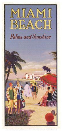 beach Vintage florida