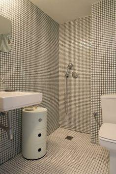 Gresite mosaico mosaico v treo verde en ducha green - Gresites para banos ...