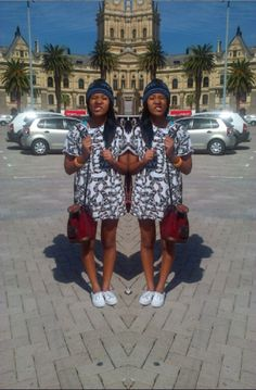 S/O to Ayandiswa Ayah Mgudlwa :)  took this pic when i 1st meet her in Cape Town  #cape town #street style #my edits #background