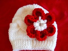 can't get enough of these crocheted newborn hats