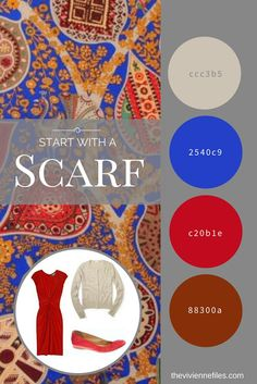 My 6th Most Popular Post - All Time - How to build a capsule wardrobe - Start with a Scarf: Hermes Arbre de Vie