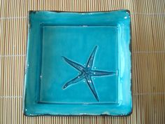 Céramique coupelle avec impression d'étoile de mer : Accessoires de maison par crisland