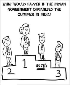 Reservation system in India: Photo of the day http://www.thehansindia.com/posts/index/2014-03-10/Reservation-system-in-India-Photo-of-the-day-88744