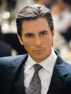 Christian Bale. I heart him even more now that he visited the Aurora Shooting victims!