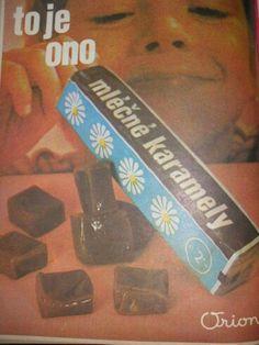 Z Socialism, Childhood Memories, Czech Republic, Sweet, Vintage, Nostalgia, Candy, Vintage Comics, Bohemia