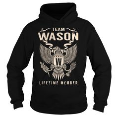 (Tshirt Amazing Deals) Team WASON Lifetime Member Last Name Surname T-Shirt Coupon Today Hoodies Tees Shirts