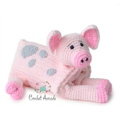 Cow Baby Blanket Crochet Pattern, Cuddle and Play Cow Blanket Toy Crochet Pattern, Crochet Baby Blanket Pattern, Crochet Cow Blanket Pattern Crochet Pig, Crochet Motifs, Chunky Crochet, Crochet Blanket Patterns, Baby Blanket Crochet, Crochet Hooks, Free Crochet, Ravelry Crochet, Crochet Flower