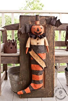 JACK THE PUMPKIN MAN . . . I love this!