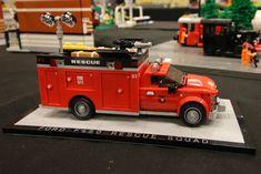Lego City Fire Truck, Lego Truck, Fire Trucks, Lego Hospital, Lego Baby, Lego Fire, Lego Speed Champions, Lego Pictures, Lego Modular
